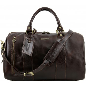 Дорожная сумка Tuscany Leather Voyager TL141216 dark brown