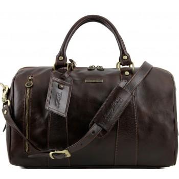 Дорожная сумка Tuscany Leather Voyager TL141216 dark brown