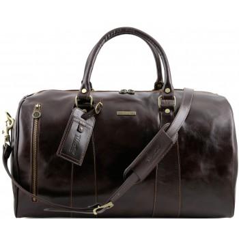 Дорожная сумка Tuscany Leather Voyager TL141217 dark brown