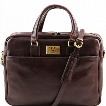 Сумка для документов Tuscany Leather Urbino TL141241 dark brown