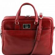 Сумка для документов Tuscany Leather Urbino TL141241 red
