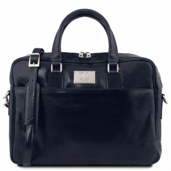 Сумка для документов Tuscany Leather Urbino TL141241 dark blue