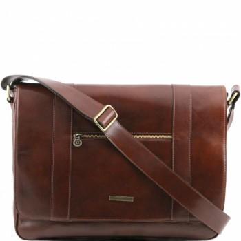 Сумка свободного стиля Tuscany Leather Dynamic TL141252 brown