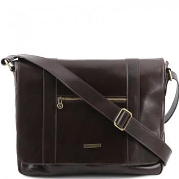 Сумка свободного стиля Tuscany Leather Dynamic TL141252 dark brown