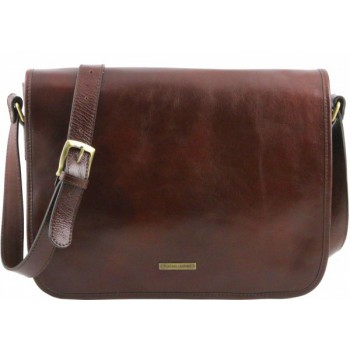 Сумка свободного стиля Tuscany Leather Messenger TL141253 brown