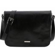 Сумка свободного стиля Tuscany Leather Messenger TL141253 black