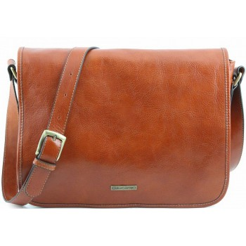 Сумка свободного стиля Tuscany Leather Messenger TL141253 honey