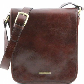 Мужская сумка Tuscany Leather Messenger TL141255 brown