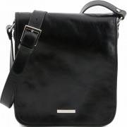 Мужская сумка Tuscany Leather Messenger TL141255 black