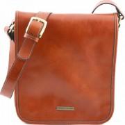 Мужская сумка Tuscany Leather Messenger TL141255 honey