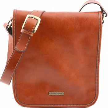 Мужская сумка Tuscany Leather Messenger TL141255 honey