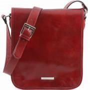 Мужская сумка Tuscany Leather Messenger TL141255 red