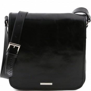 Мужская сумка Tuscany Leather Messenger TL141260 black