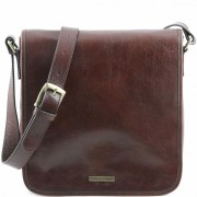 Мужская сумка Tuscany Leather Messenger TL141260 brown