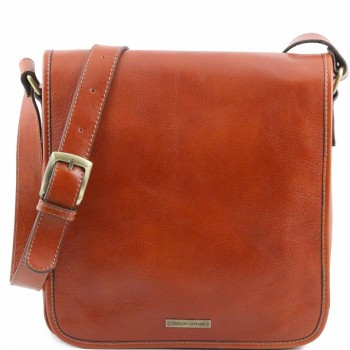 Мужская сумка Tuscany Leather Messenger TL141260 honey