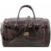 Дорожная сумка Tuscany Leather Voyager TL141281 dark brown