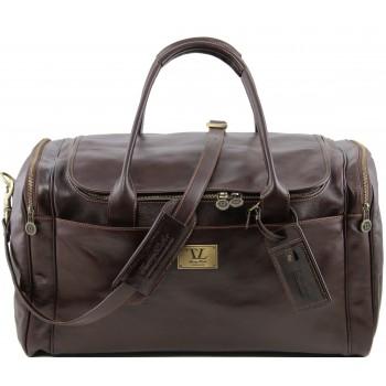 Дорожная сумка Tuscany Leather Voyager TL141281 dark brown