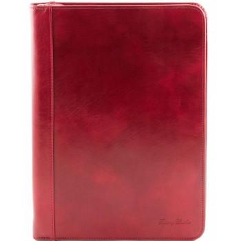 Кожаная папка Tuscany Leather LUIGI XIV TL141287 red