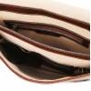 Кожаная сумка мессенджер Tuscany Leather Postina TL141288 brown