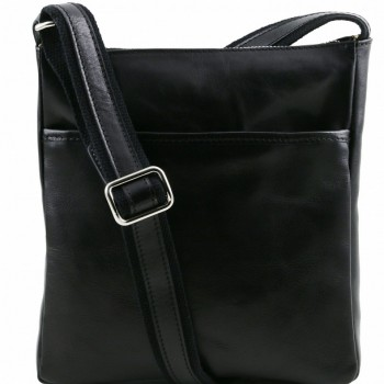 Мужская сумка через плечо Tuscany Leather Jason TL141300 black