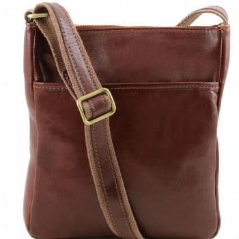 Мужская сумка через плечо Tuscany Leather Jason TL141300 brown