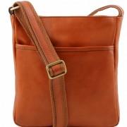 Мужская сумка через плечо Tuscany Leather Jason TL141300 honey