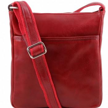 Мужская сумка через плечо Tuscany Leather Jason TL141300 red