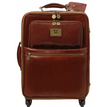 Чемодан Tuscany Leather Voyager TL141390 brown