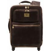 Чемодан Tuscany Leather Voyager TL141390 dark brown