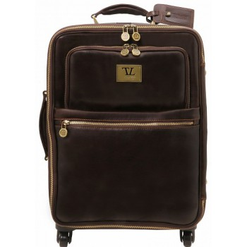Чемодан Tuscany Leather Voyager TL141390 dark brown