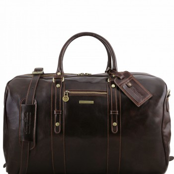 Дорожная сумка Tuscany Leather Voyager TL141401 dark brown