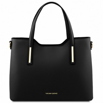 Женская кожаная сумка Tuscany Leather Olimpia TL141412 black