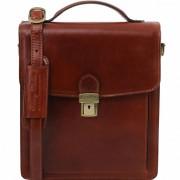 Мужская сумка Tuscany Leather David TL141424 (TL140930) brown