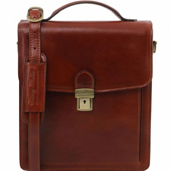 Мужская сумка Tuscany Leather David TL141424 (TL140930) brown