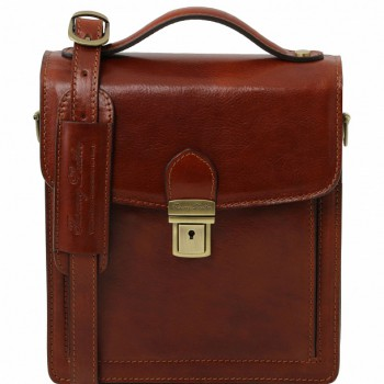 Мужская сумка Tuscany Leather David TL141425 (TL140931) brown