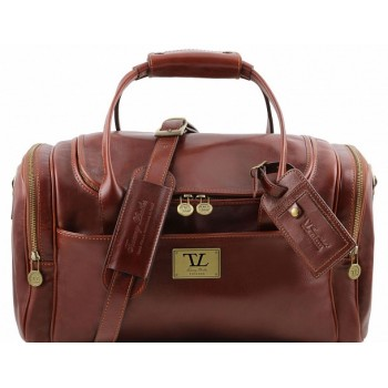 Дорожная сумка Tuscany Leather Voyager TL141441 brown