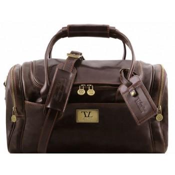 Дорожная сумка Tuscany Leather Voyager TL141441 dark brown