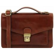 Мужская сумка через плечо Tuscany Leather Eric TL141443 brown