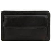 Мужской кожаный клатч Tuscany Leather Denis TL141445 black