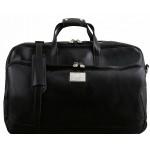 Дорожная сумка на колесах Tuscany Leather Samoa TL141453 black