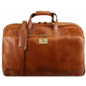 Дорожная сумка на колесах Tuscany Leather Samoa TL141453 honey