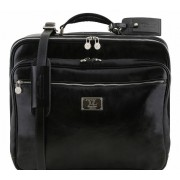 Чемодан на колесах Tuscany Leather Varsavia TL141454 black