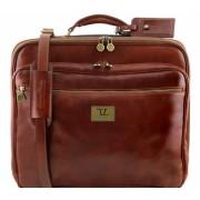 Чемодан на колесах Tuscany Leather Varsavia TL141454 brown