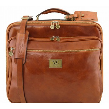 Чемодан на колесах Tuscany Leather Varsavia TL141454 honey