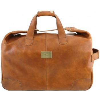 Дорожная сумка на колесах Tuscany Leather Barbados TL141537 sand