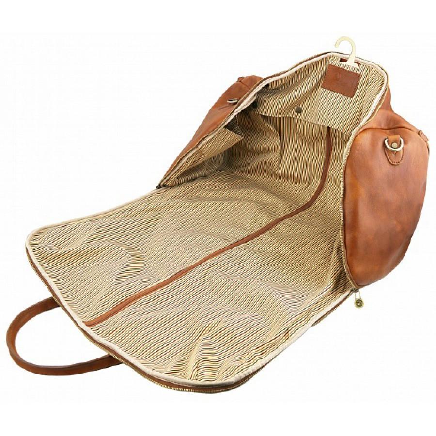 51be27cc71db ... Дорожная сумка-портплед Tuscany Leather Antigua TL141538 dark brown ...