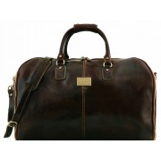 Дорожная сумка-портплед Tuscany Leather Antigua TL141538 dark brown