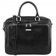 Кожаная сумка Tuscany Leather Pisa TL141660 black