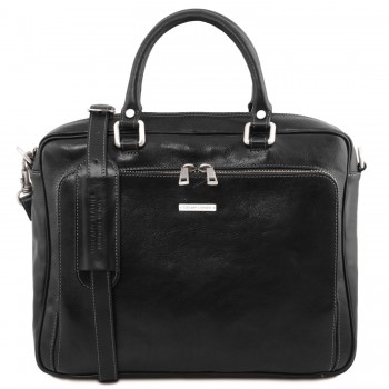 Кожаная сумка Tuscany Leather Pisa TL141660 black
