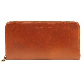 Кожаный клатч Tuscany Leather TL141663 honey